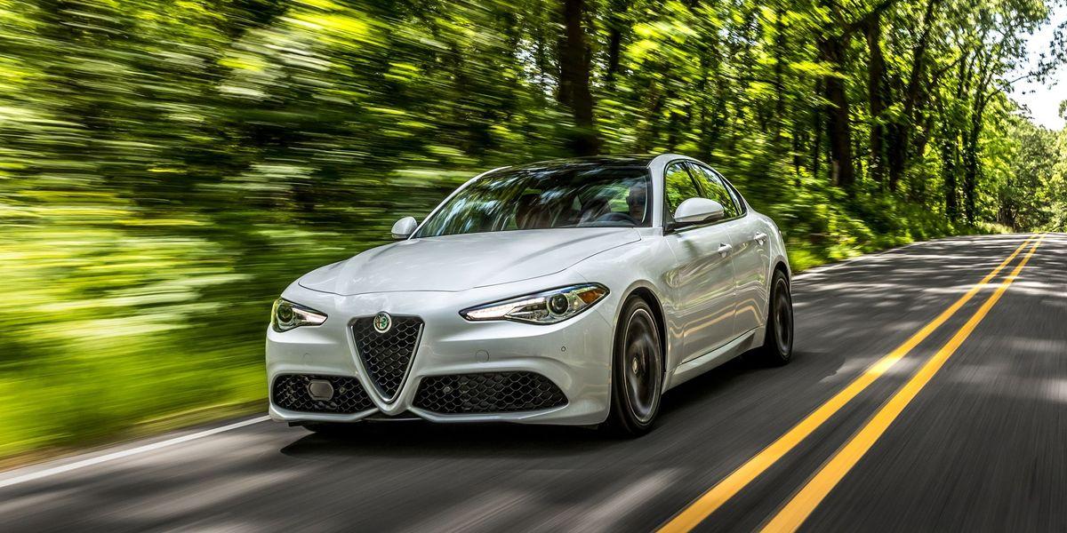 2017 Alfa Romeo Giulia Ti Review - First Drive of New Giulia Sport Sedan