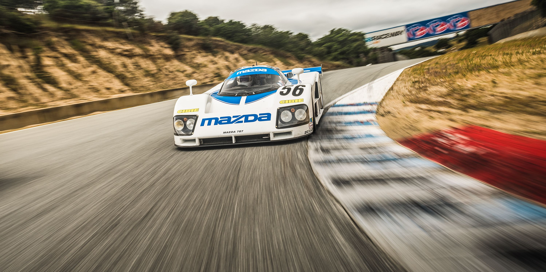 The Glory of Mazda\'s Experimental Rotary Race Cars