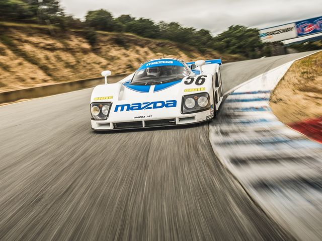 The Glory Of Mazda S Experimental Rotary Race Cars