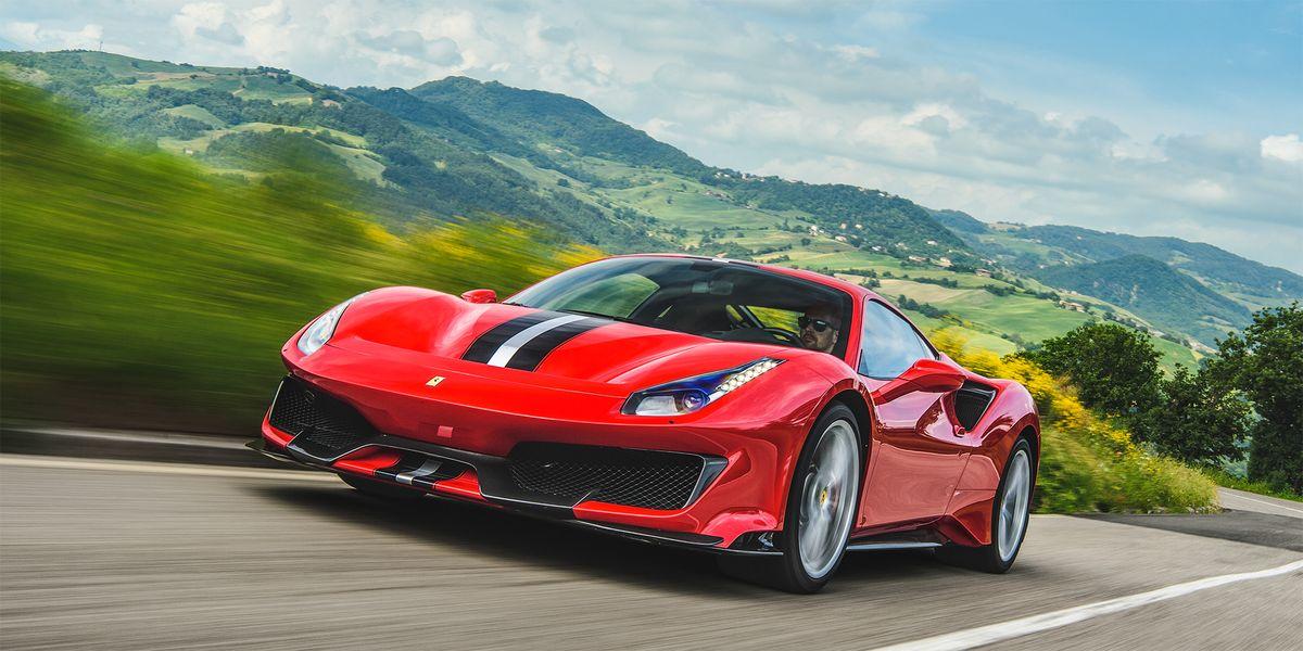 Ship A Car >> The Ferrari 488 Pista Is a Gorgeous, 710 Horsepower Rocket ...