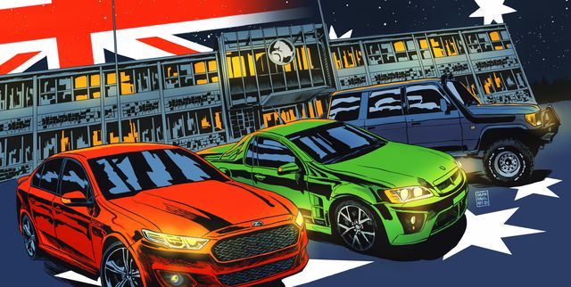 death of australian auto industry