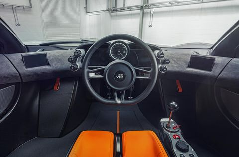 gordon murray automotive t50 interior