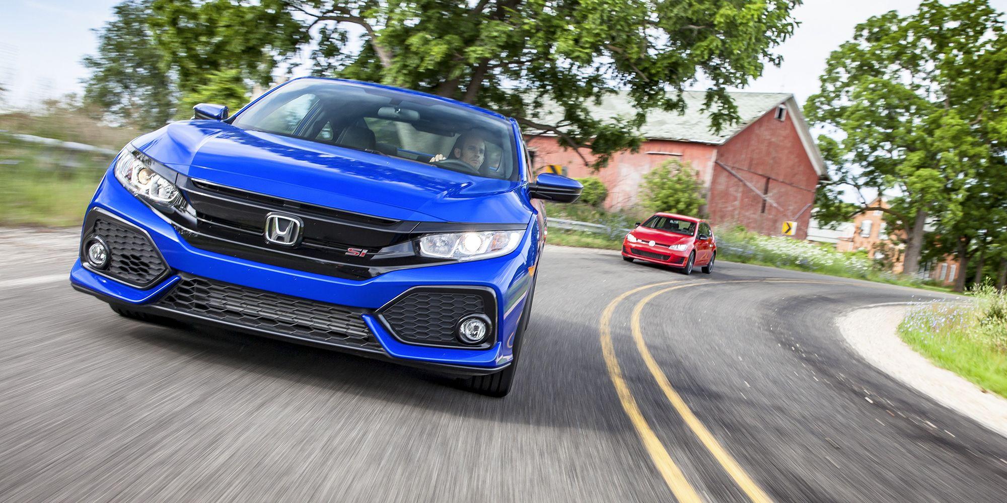 2017 Honda Civic Si Vs Volkswagen Golf Gti The Alchemists