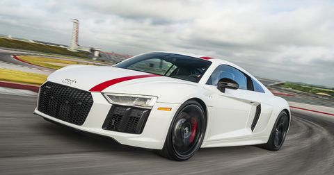 land vehicle, vehicle, car, sports car, automotive design, audi, performance car, audi r8, coupé, supercar,