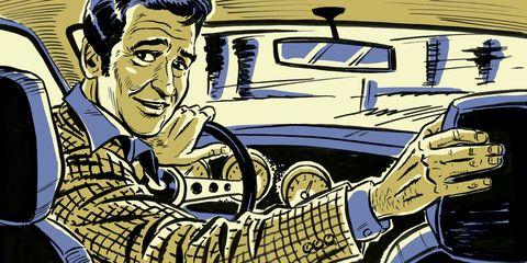 Vehicle, Illustration, Cartoon, Car, Fiction, Automotive design, Classic car, Fictional character, Art, Comics,