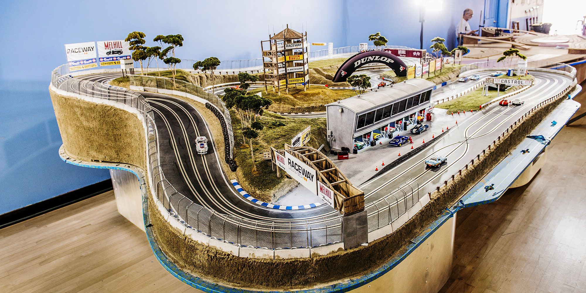 These Slot Car Tracks Are Functional Works of Art