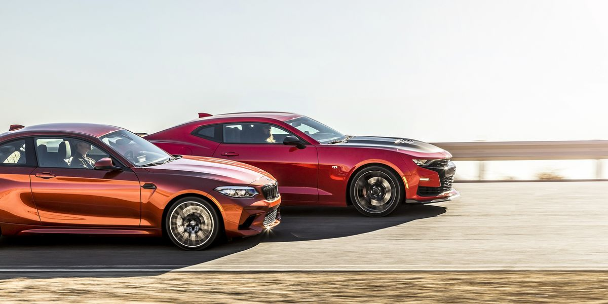 2019 Bmw M2 Competition Vs 2019 Chevrolet Camaro Ss 1le Comparison
