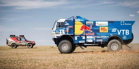 Rally raid, Vehicle, Off-roading, Transport, Racing, Natural environment, Motorsport, Rallying, Car, Off-road racing,