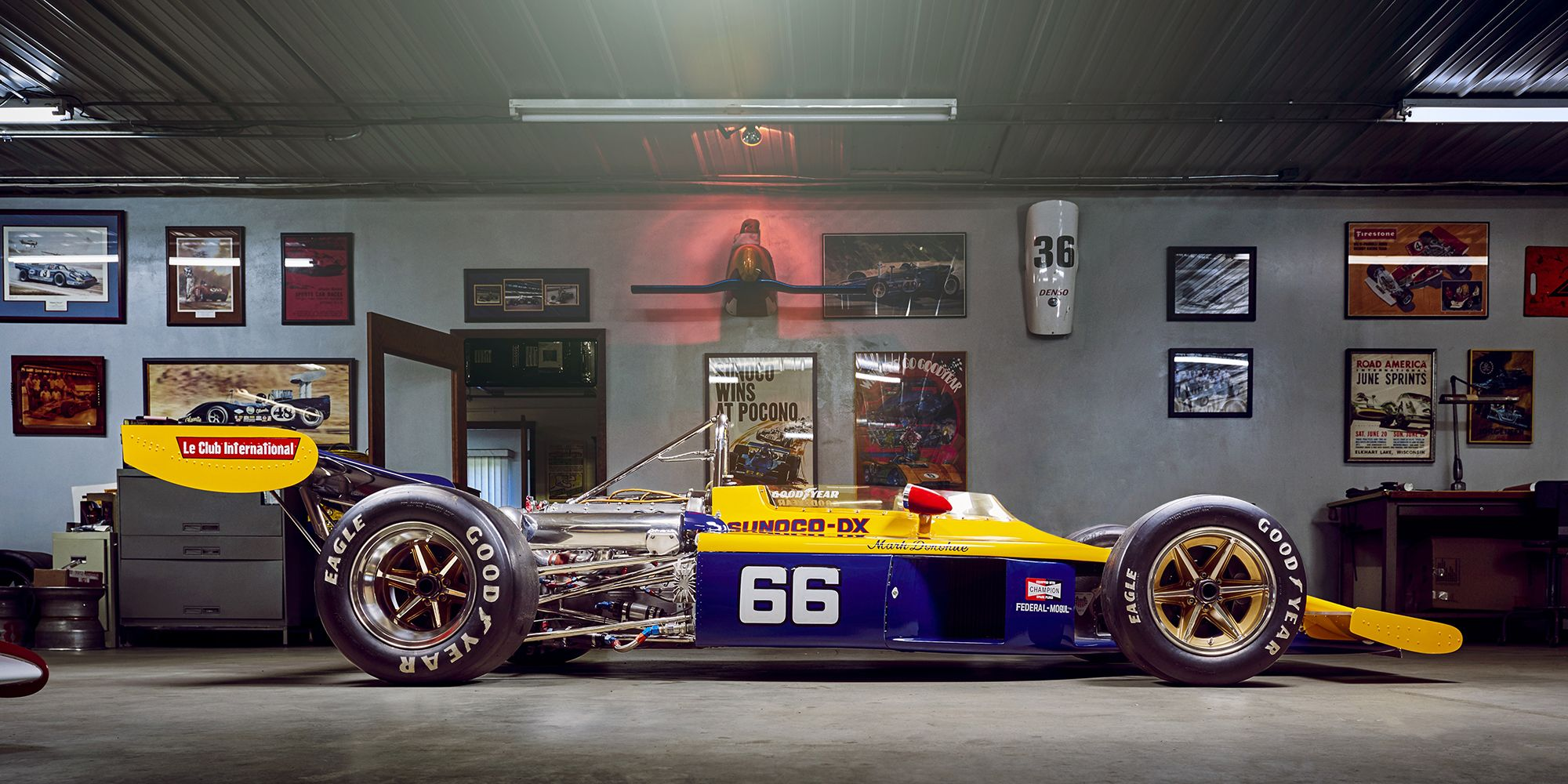 The wisconsin shop that keeps forgotten indy 500 history alive