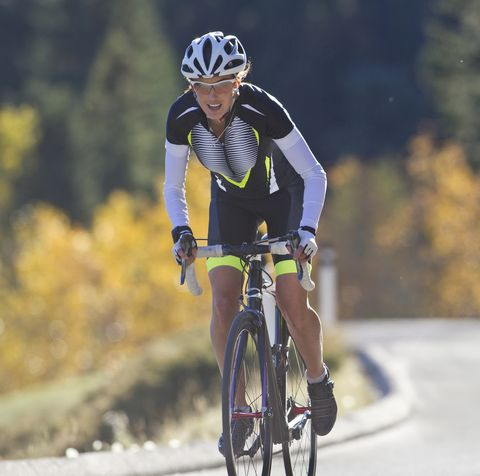 road bicycle woman