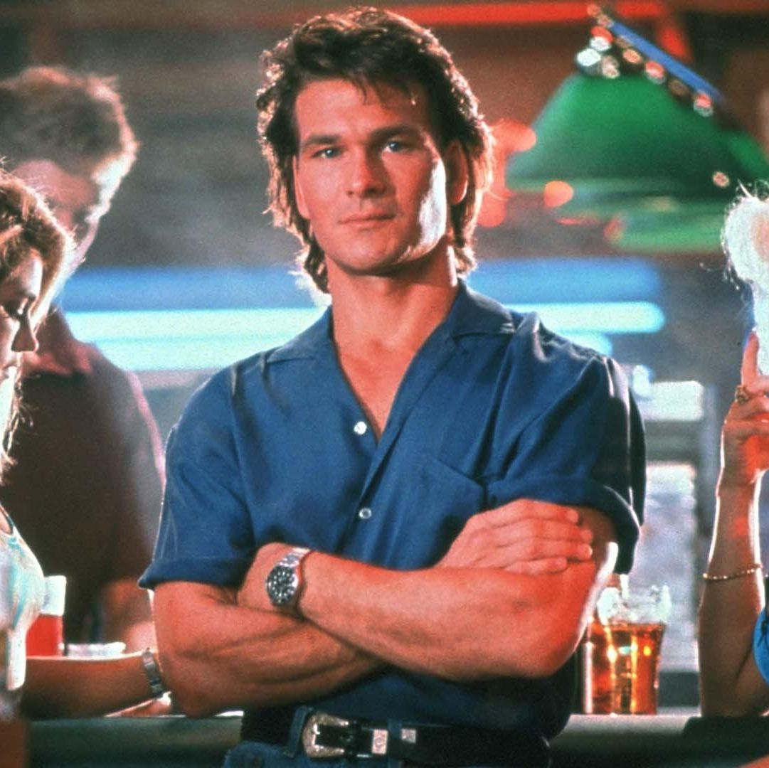 Road House Patrick Swayze plays the no-nonsense bouncer of a small town Missouri bar called the Double Deuce whose duties soon expand to protecting his new home town from corrupt businessmen and violent criminals.