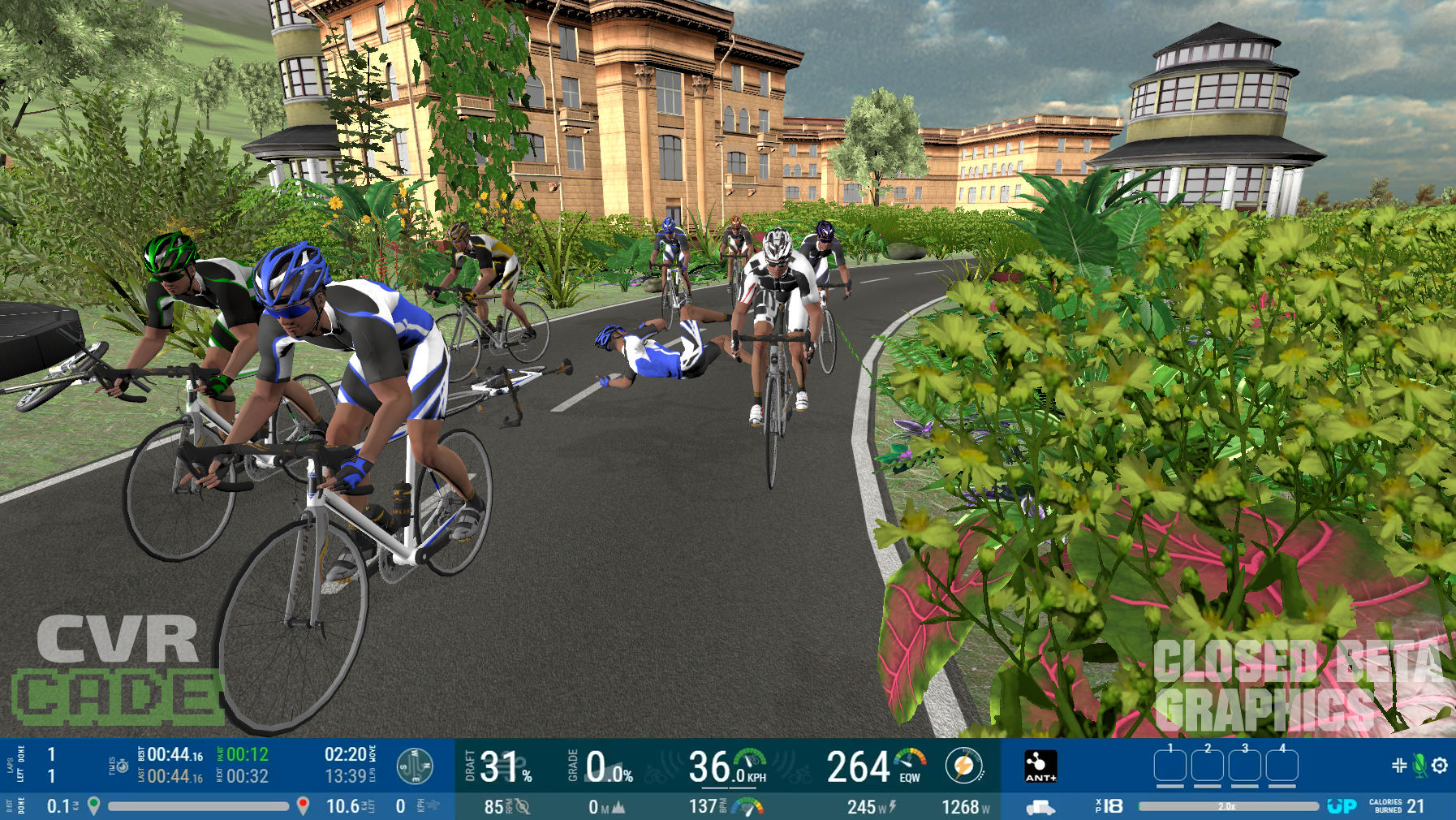 CVRcade Bike Gaming Platform to Compete With Zwift | Indoor