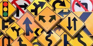 Road signs (Digital Composite)