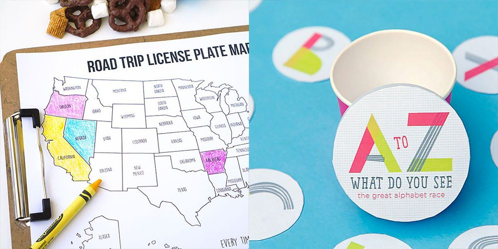 15 Road Trip Games to Play on Your Next Family Vacation