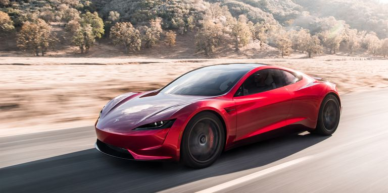 New Tesla Roadster - Elon Musk Unveils Roadster As World's Quickest Car