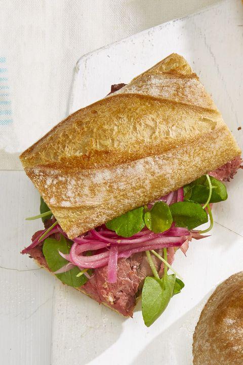 roast beef baguette