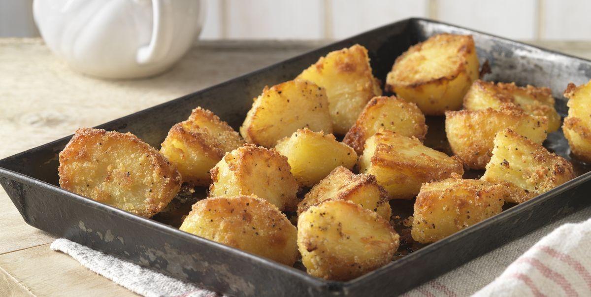 The best vegetarian roast potatoes