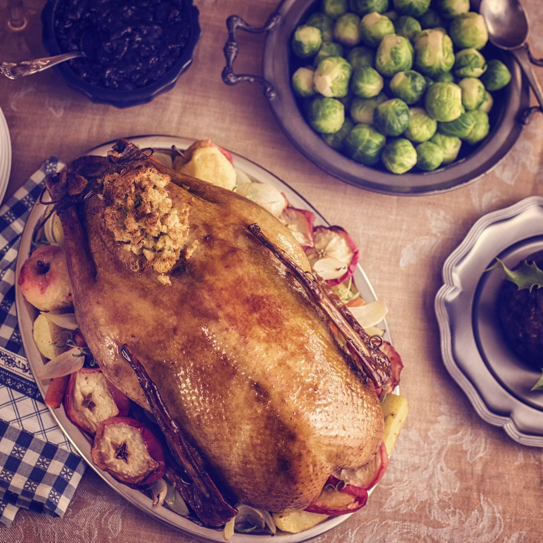 John Torode's turkey with caramelised onions