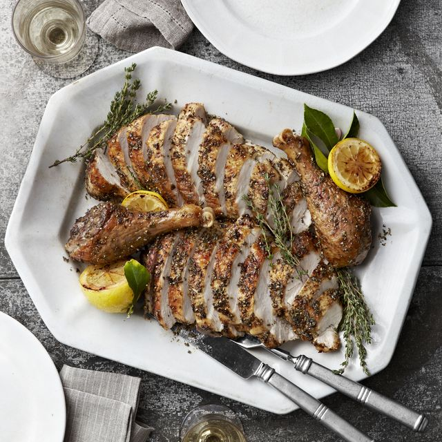 roast turkey with herbes de provence
