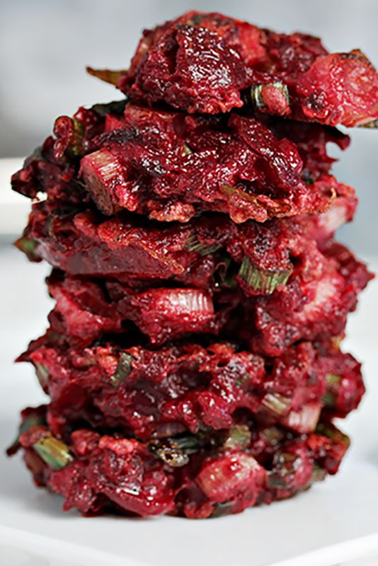 roasted beet latkes - latke recipes
