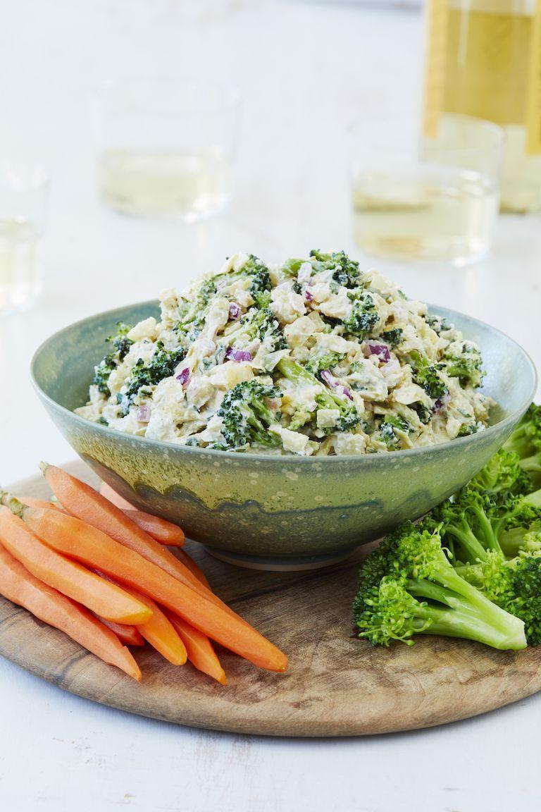 Healthy Snacks - Roasted Broccoli–Artichoke Dip