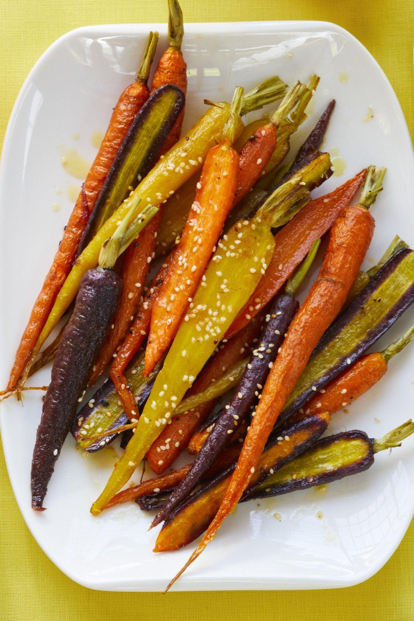 roasted carrots with citrus vinaigrette