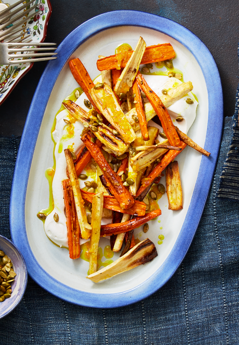 Dish, Food, Cuisine, Carrot, Ingredient, Parsnip, Fried food, Root vegetable, Side dish, French fries,