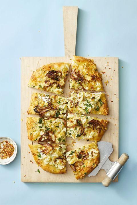 Best Cauliflower Recipes - Roasted Cauliflower Pizza