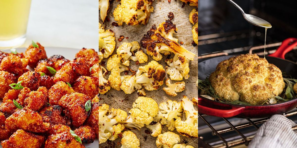 Roasted Cauliflower Recipes From Whole-Roasted To Asian-Inspired Bites