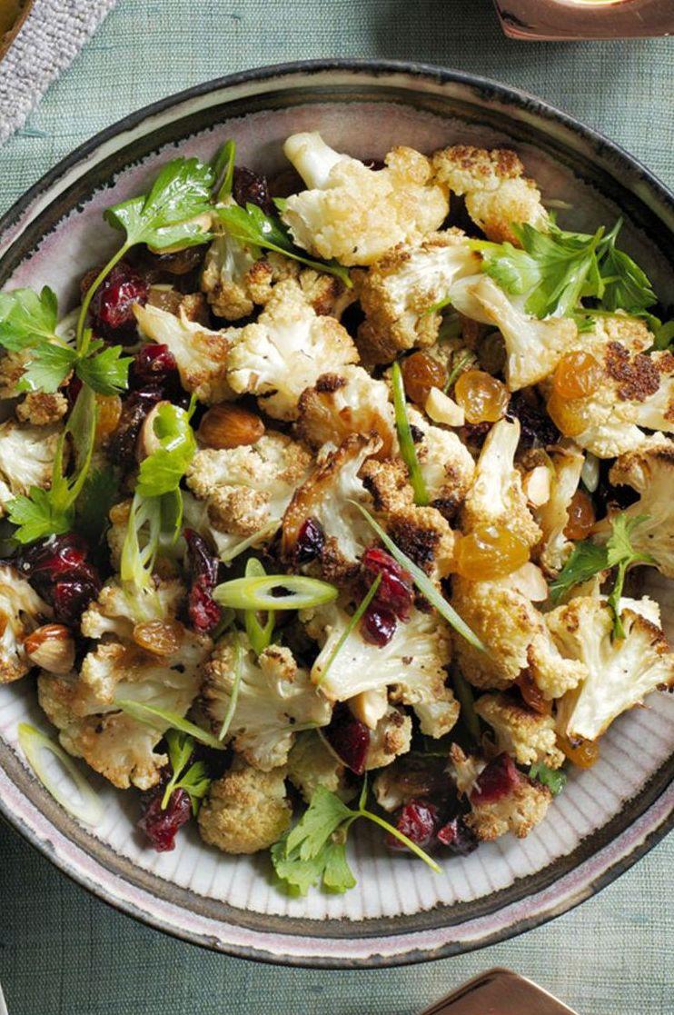 Vegetarian Meals Roasted Cauliflower Salad