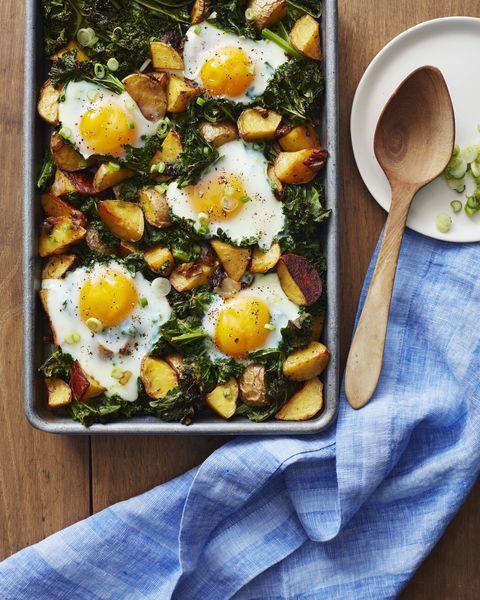 whole30 cookbook kale and roasted potatoes