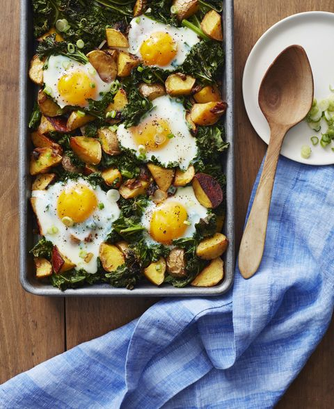 whole30 cookbook kale and roasted potatoes