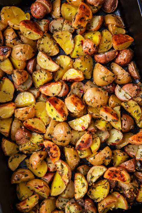 Herb Roasted Potatoes - Delish.com