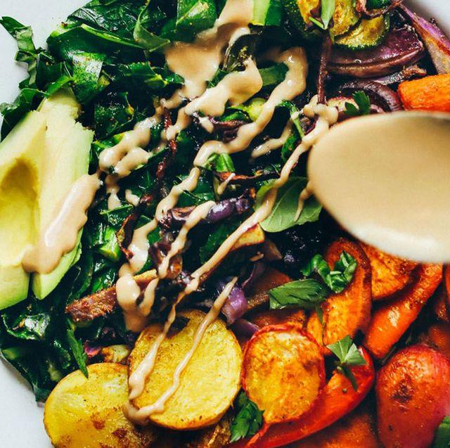 Dish, Food, Cuisine, Ingredient, Salad, Vegetable, Produce, Meat, Salad niçoise, Spinach salad,