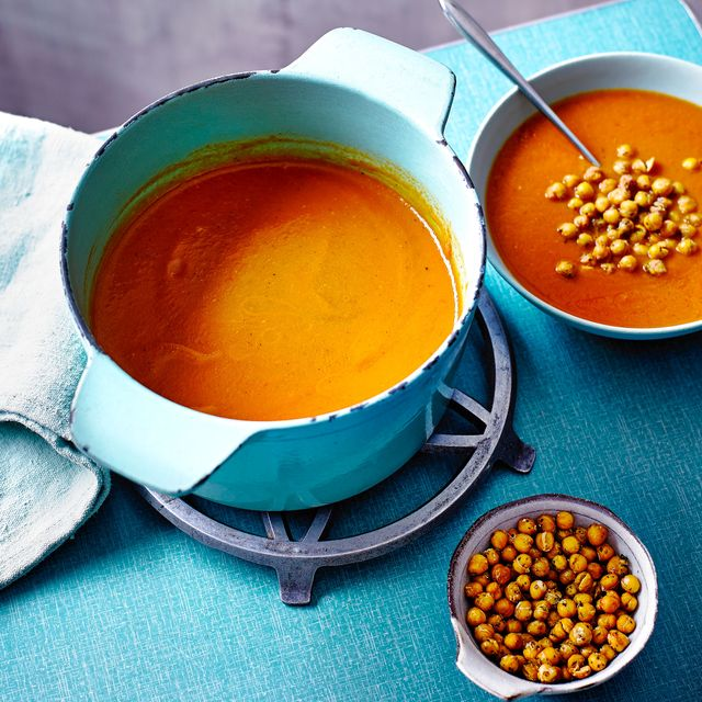 rosted tomato and chilli soup