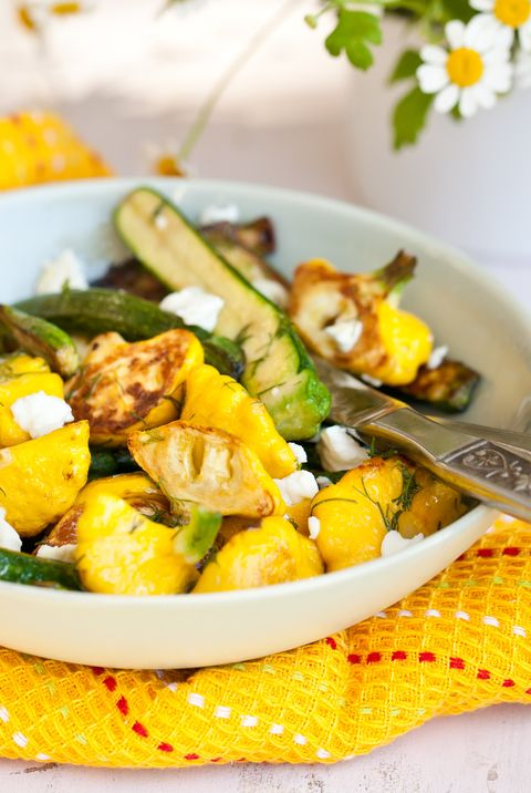 roasted zucchini and patty pan squash recipe