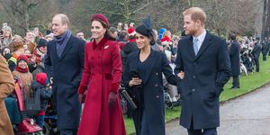 royal family christmas church