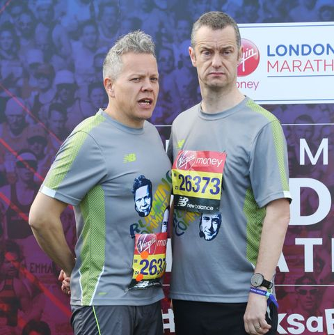 rob deering and paul tonkinson at the virgin money london