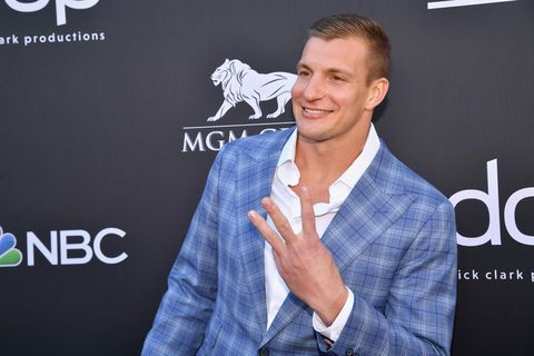 Rob Gronkowski Reveals Weight Loss Transformation Post