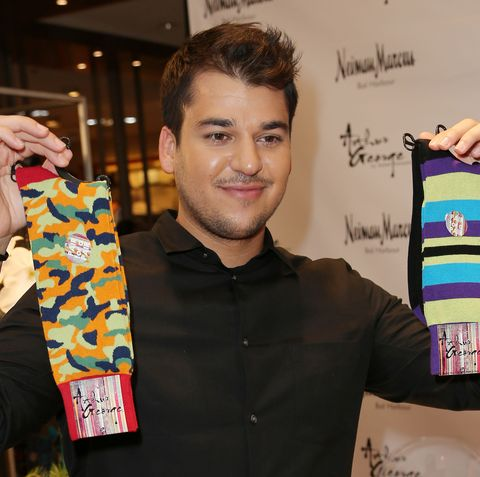 Magnifiek Rob Kardashian Sold His Failing Arthur George Sock Line to Mom @PF93