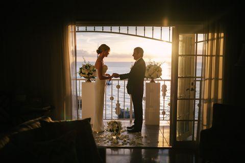 liz and rob's wedding, the venue