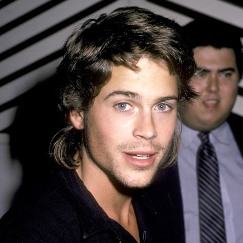 Rob Lowe Sighting at Spago in West Hollywood - October 9, 1985