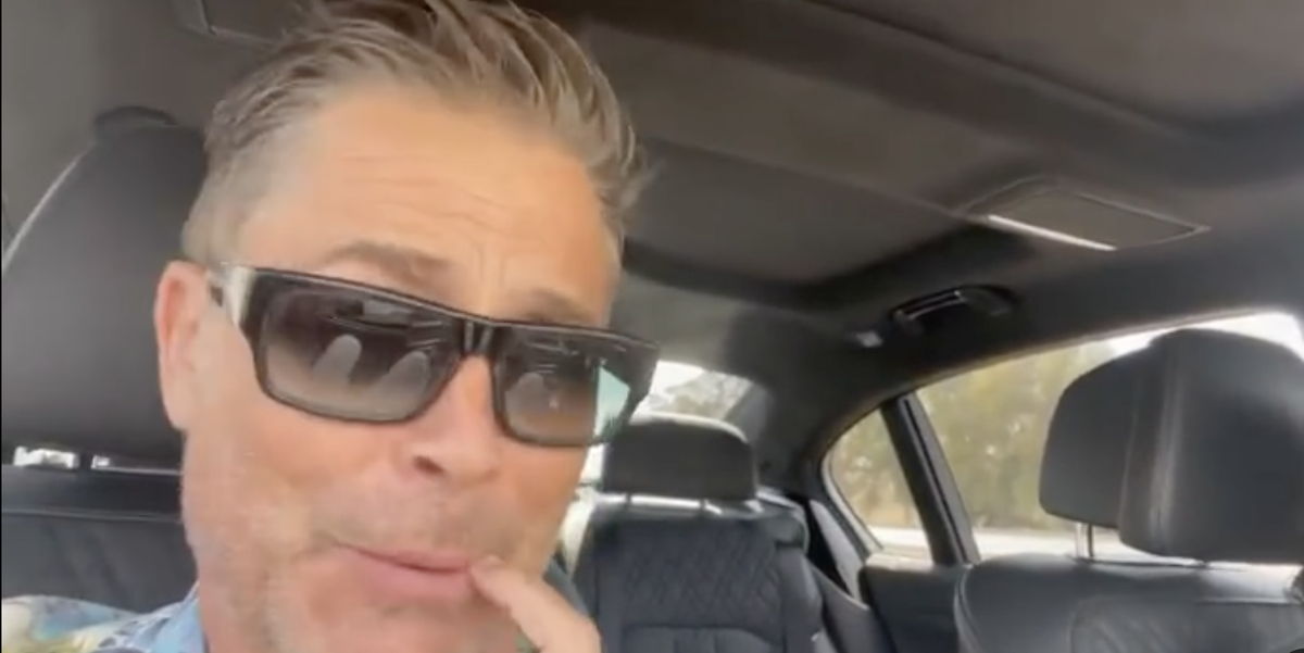 Rob Lowe's Latest Instagram Video Has Fans Going Wild