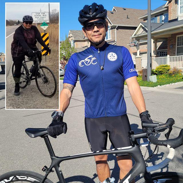 rob rafanan cycling weight loss