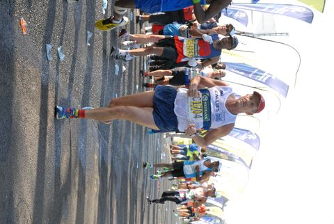 Former Comrades Marathon Champ Notches 40th Finish