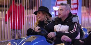 Robbie Williams y Aina Field Winter Wonderland