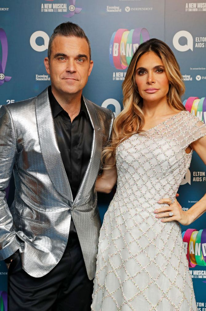 Robbie Williams and Ayda Field Singer-songwriter Robbie Williams and his actress wife Ayda Field don't just dress alike, they've also nailed the same broody red carpet look.