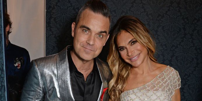 Robbie Williams and Ayda Field announce baby boy's birth on Valentine's Day