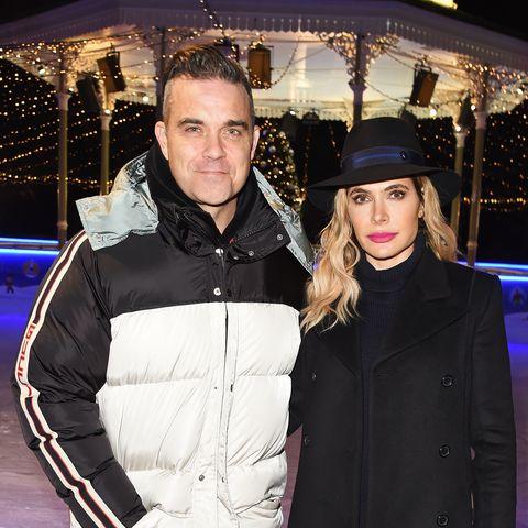 Robbie Williams on dad duties in sweet post