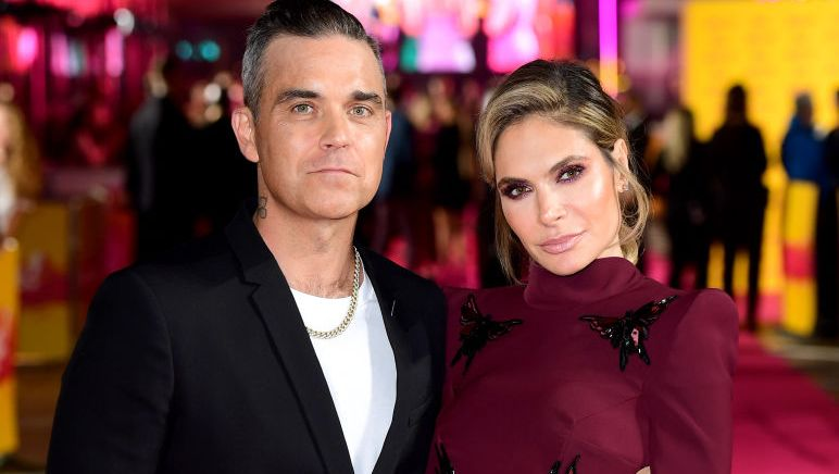 Ayda Field shares rare family holiday photo with Robbie Williams and daughter Teddy